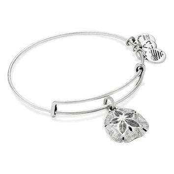 Women's Alex and Ani Expandable Sand Dollar Charm Bangle - Rafaelian