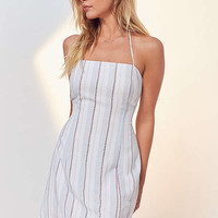 Cooperative Yarn-Dyed Strappy Back Mini Dress | Urban Outfitters