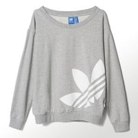 Adidas Originals Women's Light Logo Sweater ALL SIZES FREE SHIPPING S19813