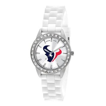 Ladies NFL Houston Texans Bling Watch