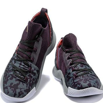 Under Armour Curry5 Women Men Fashion Casual Sneakers Sport Shoes-17