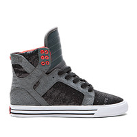 WOMENS SKYTOP GREY / BLACK / RED - WHITE