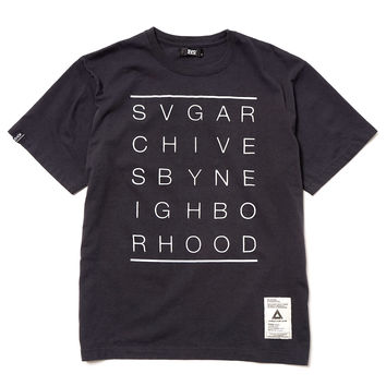 SVG Archives Wall / C-Tee . SS Black