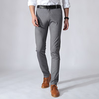 Summer Men Casual Slim Stretch Men's Fashion Pants [6541361475]