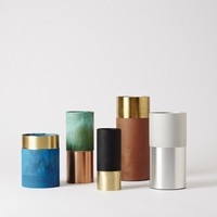 Mjölk : &TRADITION : True Colour Vase - Green Copper - 21101149