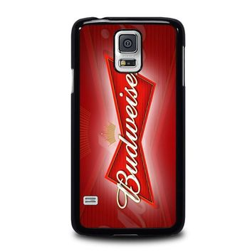 budweiser samsung galaxy s5 case cover  number 1