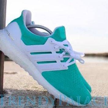 Adidas Ultra Boost Tiffany Blue Adidas Shoes Custom Adidas- Women's & Men