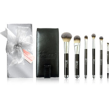 Heavenly Luxe 6 Pc Brush Set w/ Travel Case