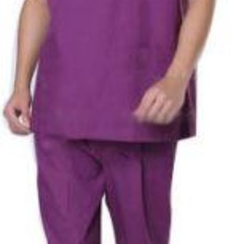 Male Nursing Medical Doctor SCRUB SET Uniform Doctor Biohazard Suits