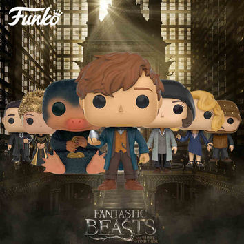7 Styles Full Set Funko Pop Original 10Cm Boxed Fantastic Beasts And Where To Find Them Figure Toys