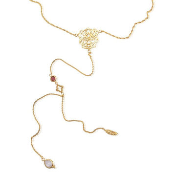 Peaceful Mind Necklace • Gold Vermeil