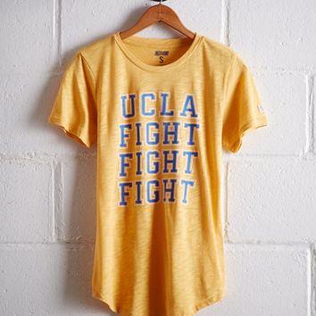 Tailgate Women's UCLA Fight T-Shirt, Yellow