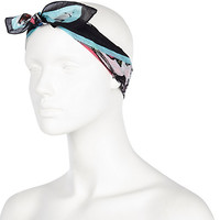 River Island Womens Green insect print headscarf