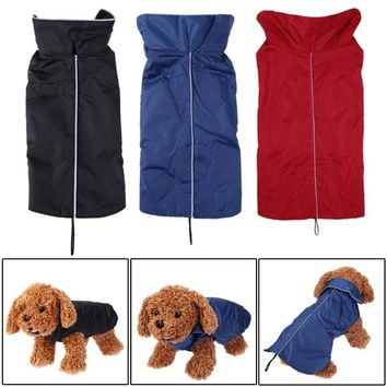 Dog Clothes Windproof Pet Dog Coat Jacket Puppy Clothes Padded Vest Dog Clothing Winter Pet Supplies