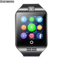 Smart watch  with Touch Screen camera TF card Bluetooth smartwatch for Android  IOS Phone