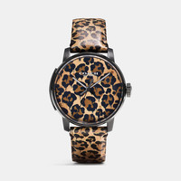Coach X Gary Baseman Wild Beast Leather Strap Watch