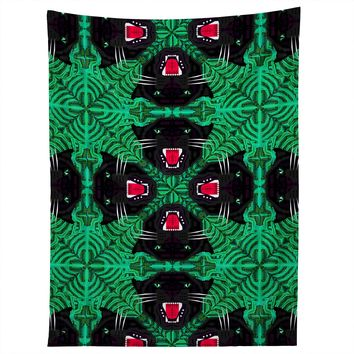 Chobopop Tropical Gothic Pattern Tapestry
