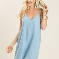 Anita Chambray Cami Dress