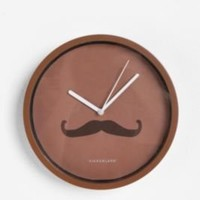 UrbanOutfitters.com > Mustache Wall Clock