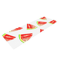 "Sreetama Ray ""Summer Fun"" Watermelon Yoga Mat"