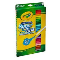Crayola® Supertip Markers, Washable, 50ct - Multicolor