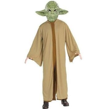 Custom Made Star Wars Jedi Master Yoda Cosplay Costume