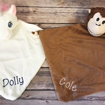 Personalized Baby Cubbie Blanket