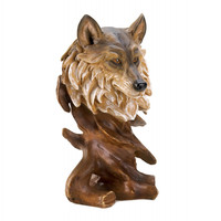 Magnificent Wolf Bust