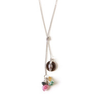 Tourmaline Lariat Necklace