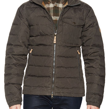 Fjallraven Men's Quilted Jacket - Grey -
