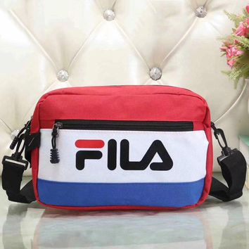 Fila Women Fashion Leather Satchel Bag Shoulder Bag Crossbody-6