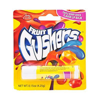 Fruit Gushers Lip Balm Triple Berry Shock Flavor