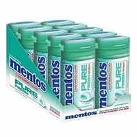 Mentos Gum Pure Fresh Sugarfree Chewing Gum, Wintergreen