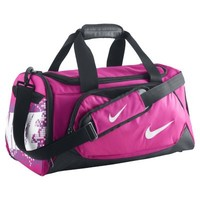 Nike Team Training Small Kids' Duffel Bag - Pink Foil