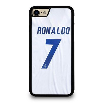 RONALDO CR7 JERSEY REAL MADRID iPhone 7 Case Cover