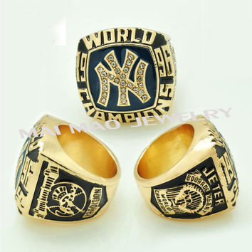 Hot selling  Sport Jewelry rings for man 1996 NY Jeter World Series Championship Ring BC1259