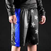Tactical Thin Blue Line shorts