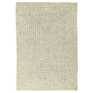 Slate Braided Indoor/Outdoor Ultra Durable Rectangle Rug