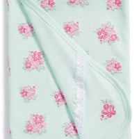 Infant Little Me 'Spring Posies' Receiving Blanket