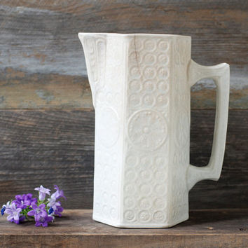 Antique Water Pitcher / Jug