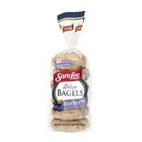 Sara Lee Deluxe Blueberry Bagels 6-ct.