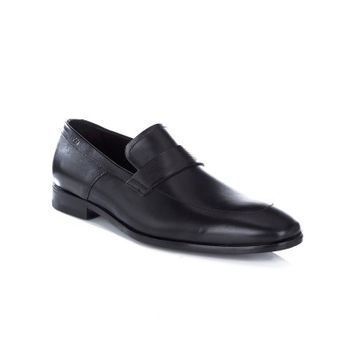 Hugo by Hugo Boss Black Square Loafers