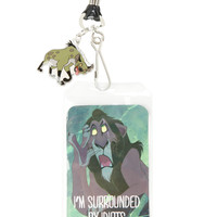 Disney The Lion King Surrounded By Idiots Lanyard