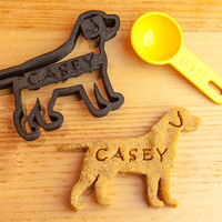 Labrador Retriever Cookie Cutter Custom Treat Personalized Pet