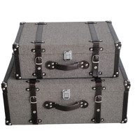Screen Gems Mandalay Tweed Suitcases