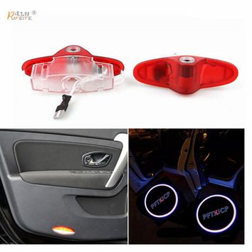 free shipping For RENAULT latitude Talisman laguna Espace door logo light projector, Ghost Shadow welcome light laser lamp