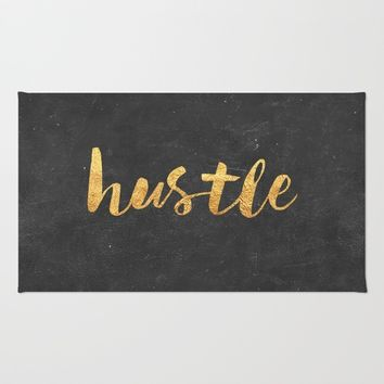 Hustle Rug by Text Guy