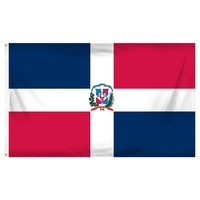 Dominican Republic Flag 2'x3' Bandera Dominicana Republica