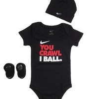 Nike Baby 3 piece set - ibsp0813xblk | Free Shipping on All Orders!