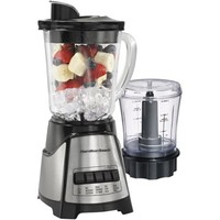 Hamilton Beach 2-Speed Blender with Food Chopper, Stainless Steel - Walmart.com